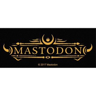 MASTODON Logo, パッチ
