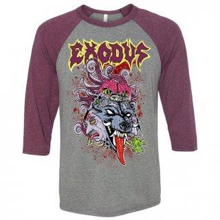EXODUS Toxic Wolf, ラグラン七分袖シャツ
