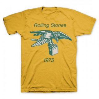 THE ROLLING STONES Eagle With Amp 1975, Tシャツ