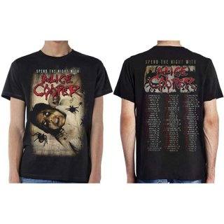 ALICE COOPER Spend The Night With Spiders, Tシャツ