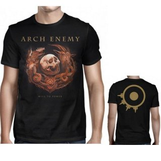 ARCH ENEMY Will To Power Album Cover, Tシャツ