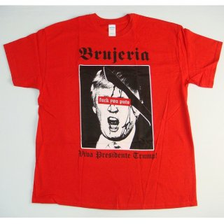 BRUJERIA Presidente Trump 2016 Red, Tシャツ