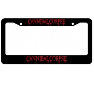 CANNIBAL CORPSE Logo, ナンバープレートフレーム