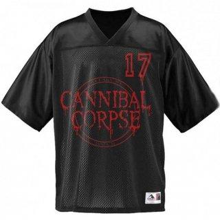 CANNIBAL CORPSE 17, フットボールジャージ