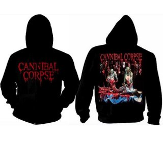 CANNIBAL CORPSE Butchered At Birth, Zip-Upパーカー