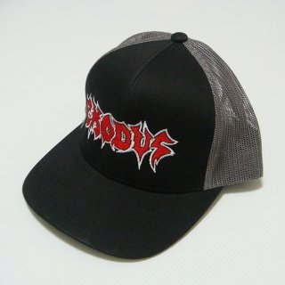EXODUS Logo Blk/grey, キャップ