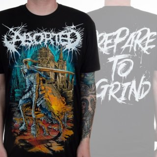 ABORTED Prepare To Grind, Tシャツ