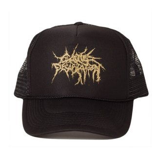 CATTLE DECAPITATION Gold Logo, キャップ