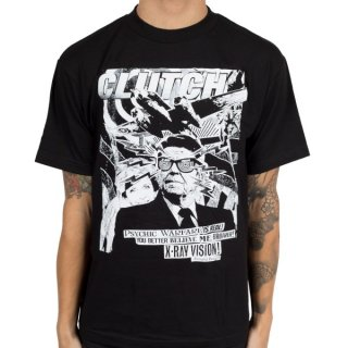 CLUTCH Uncle Ronnie Blk, Tシャツ