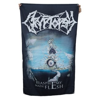 CRYPTOPSY Blasphemy Made Flesh, 布製ポスター