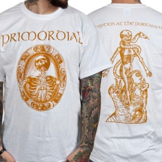 PRIMORDIAL Redemption at the Puritan's Hand White, Tシャツ