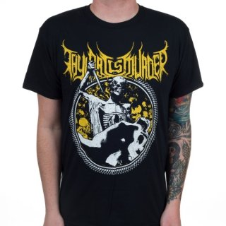 THY ART IS MURDER Death Slave, Tシャツ