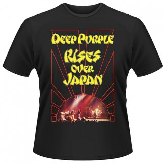 DEEP PURPLE Rises Over Japan, Tシャツ