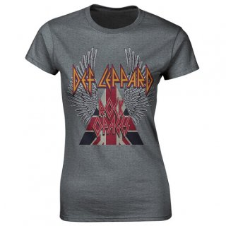 DEF LEPPARD Rock Of Ages, レディースTシャツ