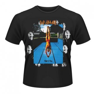 DEF LEPPARD High And Dry, Tシャツ