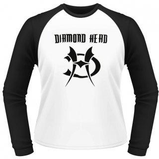 DIAMOND HEAD Logo, ラグランロングTシャツ