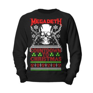MEGADETH Countdown To Christmas, スウェットシャツ