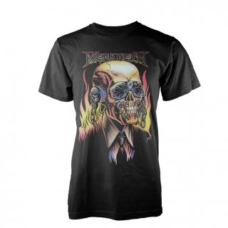 MEGADETH Flaming Vic, Tシャツ