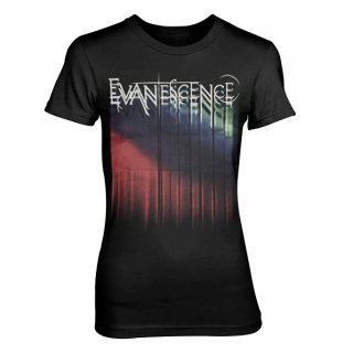 EVANESCENCE Tour Logo, レディースTシャツ
