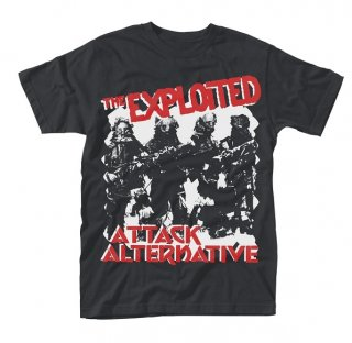 THE EXPLOITED Attack, Tシャツ