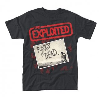 THE EXPLOITED Punks Not Dead, Tシャツ