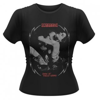 SCORPIONS Love At First Sting, レディースTシャツ