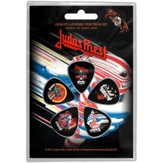 JUDAS PRIEST Turbo, ギターピック(5枚セット)