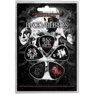 BLACK VEIL BRIDES Skull, ギターピック(5枚セット)