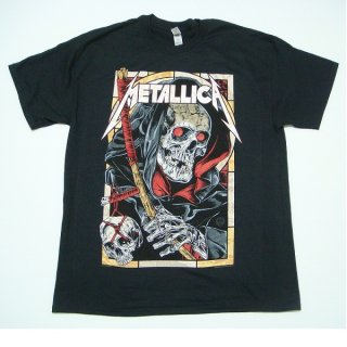 METALLICA Death Reaper Black、Tシャツ
