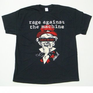 RAGE AGAINST THE MACHINE Sam Free Black, Tシャツ