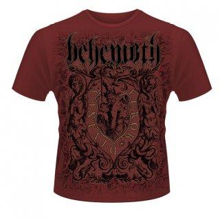 BEHEMOTH Furor Divinus Maroon, Tシャツ