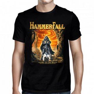 HAMMERFALL Glory To The Brave Black, Tシャツ