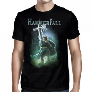 HAMMERFALL Hammer High Black, Tシャツ