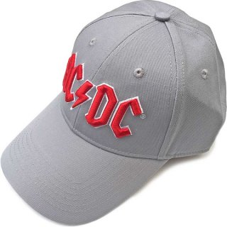 AC/DC Red Logo (Grey), キャップ