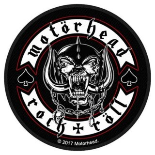 MOTORHEAD Biker Badge, パッチ