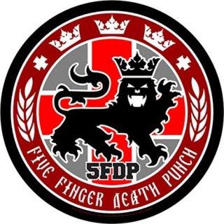FIVE FINGER DEATH PUNCH Legionary Seal, バックパッチ