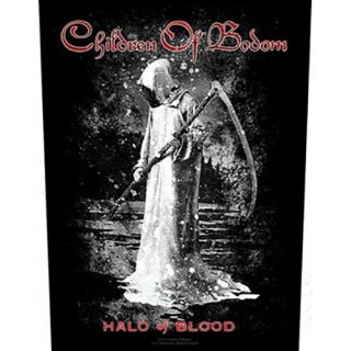 CHILDREN OF BODOM Halo Of Blood, バックパッチ