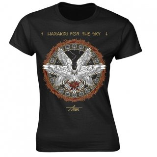 HARAKIRI FOR THE SKY Fire Owl, レディースTシャツ