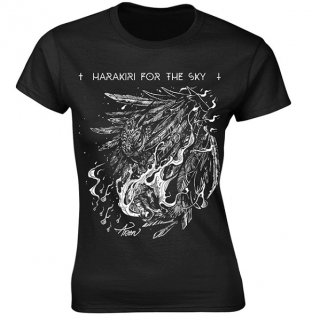 HARAKIRI FOR THE SKY White Owl, レディースTシャツ