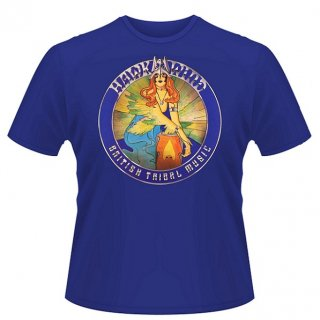 HAWKWIND British Tribal Music (Blue), Tシャツ