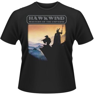 HAWKWIND Masters Of The Universe (Black), Tシャツ
