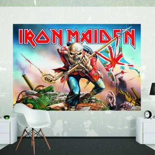 IRON MAIDEN Wall Mural, 壁紙
