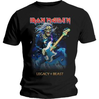 IRON MAIDEN Eddie On Bass, Tシャツ