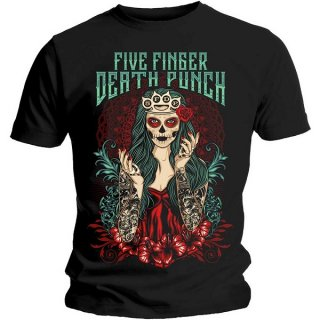 FIVE FINGER DEATH PUNCH Lady Muerta, Tシャツ