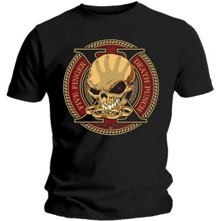 FIVE FINGER DEATH PUNCH Decade Of Destruction, Tシャツ