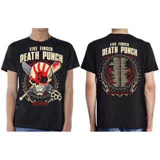 FIVE FINGER DEATH PUNCH Zombie Kill Fall 2017 Tour, Tシャツ