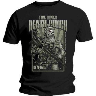 FIVE FINGER DEATH PUNCH War Soldier, Tシャツ