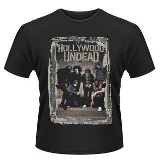 HOLLYWOOD UNDEAD Cement Photo, Tシャツ