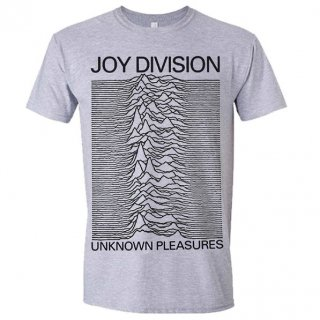 JOY DIVISION Unknown Pleasures (Grey), Tシャツ