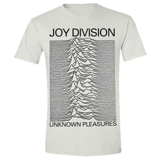 JOY DIVISION Unknown Pleasures (White), Tシャツ